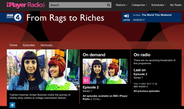 From Rags to Riches - UAL Research Online