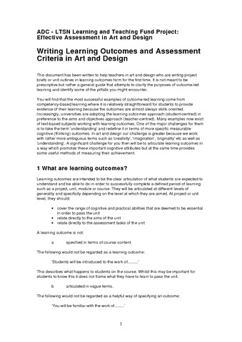 how to plan an assessment