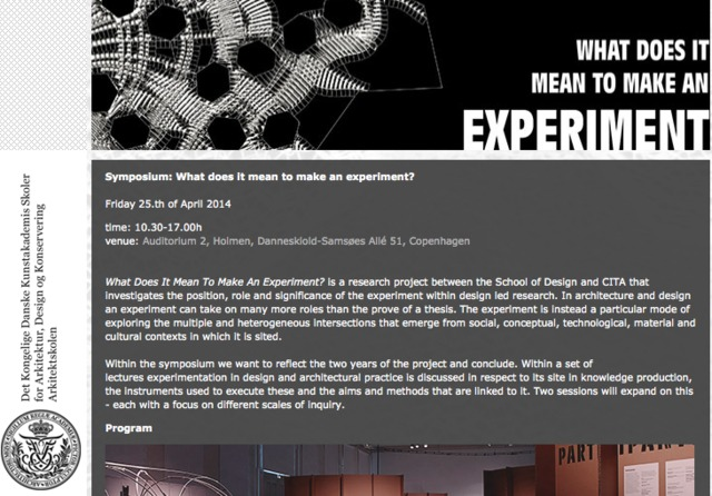 How to experiment with the future? - UAL Research Online